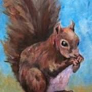 Sylas Saves For Winter Art Print