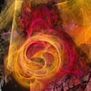 Symbiosis Abstract Art Art Print
