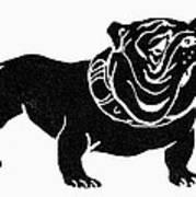 Symbol: Bulldog Art Print