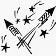 Symbol: Independence Day Art Print