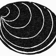 Symbol: Silence Art Print