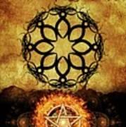 Symbols Of The Occult Art Print