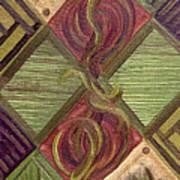 Symmetry In The Storm Art Print