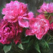 Symphony In Pink Art Print