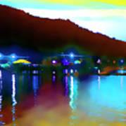 Symphony River Art Print