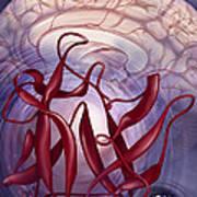 Symptom Clusters, Illustration Art Print