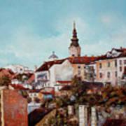 Synod Church - Belgrade Art Print