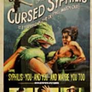 Syphilis Poster Art Print