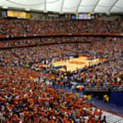 Syracuse Orange Carrier Dome Art Print