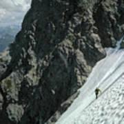 T-504102 1st Ascent On Mt. Shuksan Art Print