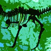 T. Rex Art Print