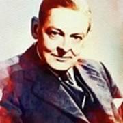 T. S. Eliot, Literary Legend Art Print