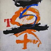 T S Notebook  Art Print