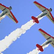 T6 Aerobatics Art Print