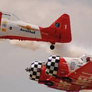 T6 Aerobatics II Art Print