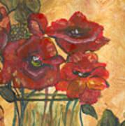 Table Flowers Art Print