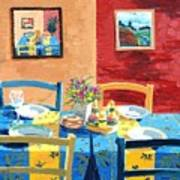 Table For Four Art Print