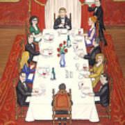 Table For Ten Art Print