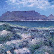 Table Mountain Cape Town South Africa 2007  Art Print