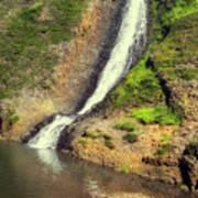 Table Mountain Waterfalls Art Print