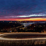 Table Rock Lake Night Shot Art Print
