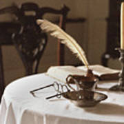 Table Scene Art Print