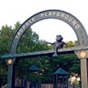 Tadpole Playground Boston Art Print