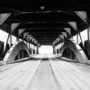 Taftsville Covered Bridge Art Print