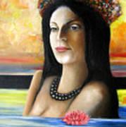 Tahiti Dreaming Art Print