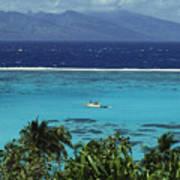 Tahiti, Moorea Art Print