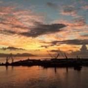 Tahiti Sunset Art Print