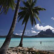 Tahiti View Art Print