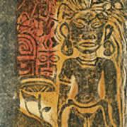 Tahitian Idol Art Print