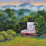 Tahlequah Ridge Morning Art Print