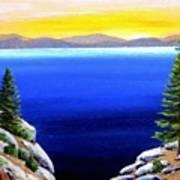 Tahoe Morning Art Print
