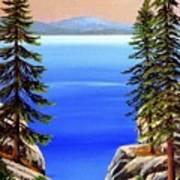 Tahoe Notch Art Print