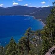 Tahoe Rim Trail Art Print