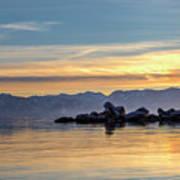 Tahoe Sunset Art Print