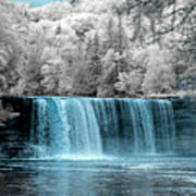 Tahquamenon Falls Ir 720nm Art Print