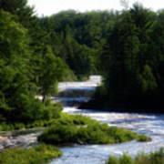 Tahquamenon Lower Falls Upper Peninsula Michigan 12 Art Print