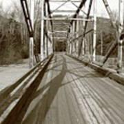 Taiya River Bridge #1 Art Print