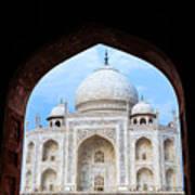 Taj Archway Art Print
