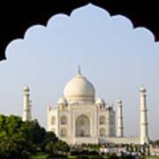 Taj Mahal At Sunrise Art Print