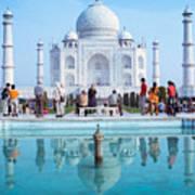 Taj Mahal  Art Print by Nila Newsom