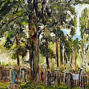 Tajny Hrbitov Art Print