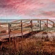 Take A Long Walk Into Dawn Art Print