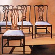 Take A Seat Art Print by Denise H Cooperman