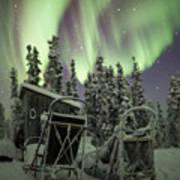 Take A Seat For The Aurora Custom 1x1 Art Print