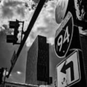 Take A Turn, Chicago, Il Art Print