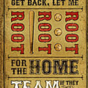 Take Me Out The The Ballgame Art Print by Jeff Steed